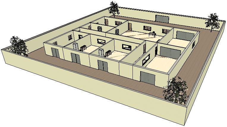 Figure 3 test lab's 3D view